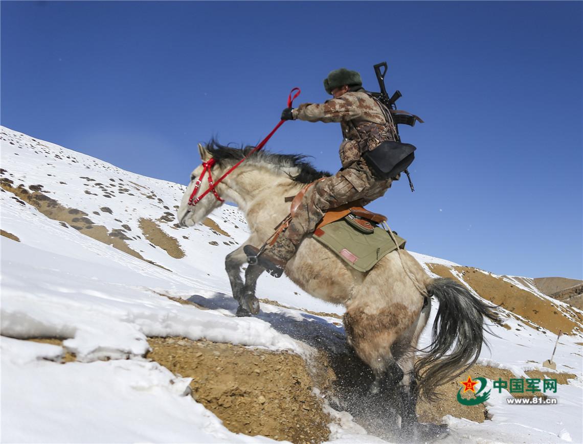 -25℃,海拔4600米,军马训练正当时