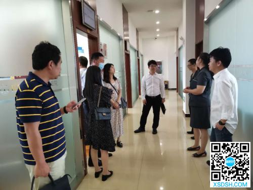 重庆市渝北区工商联调研组参