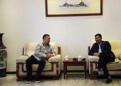 温州市体育局局长张志宏一行莅临商会走